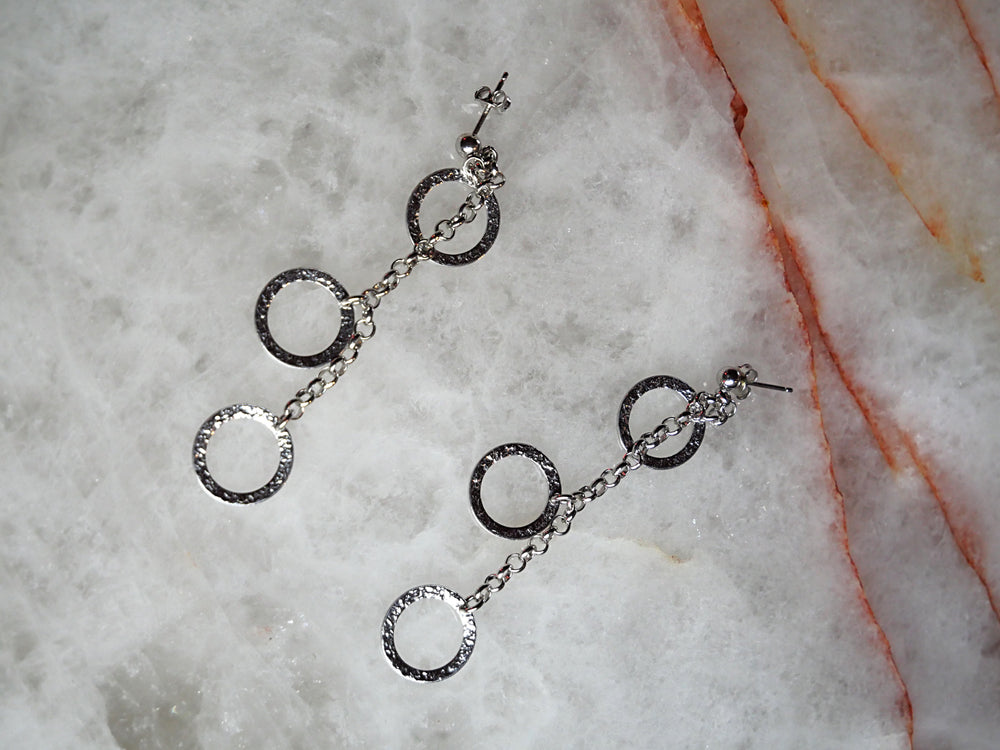 Sterling Silver Gypsy Earrings