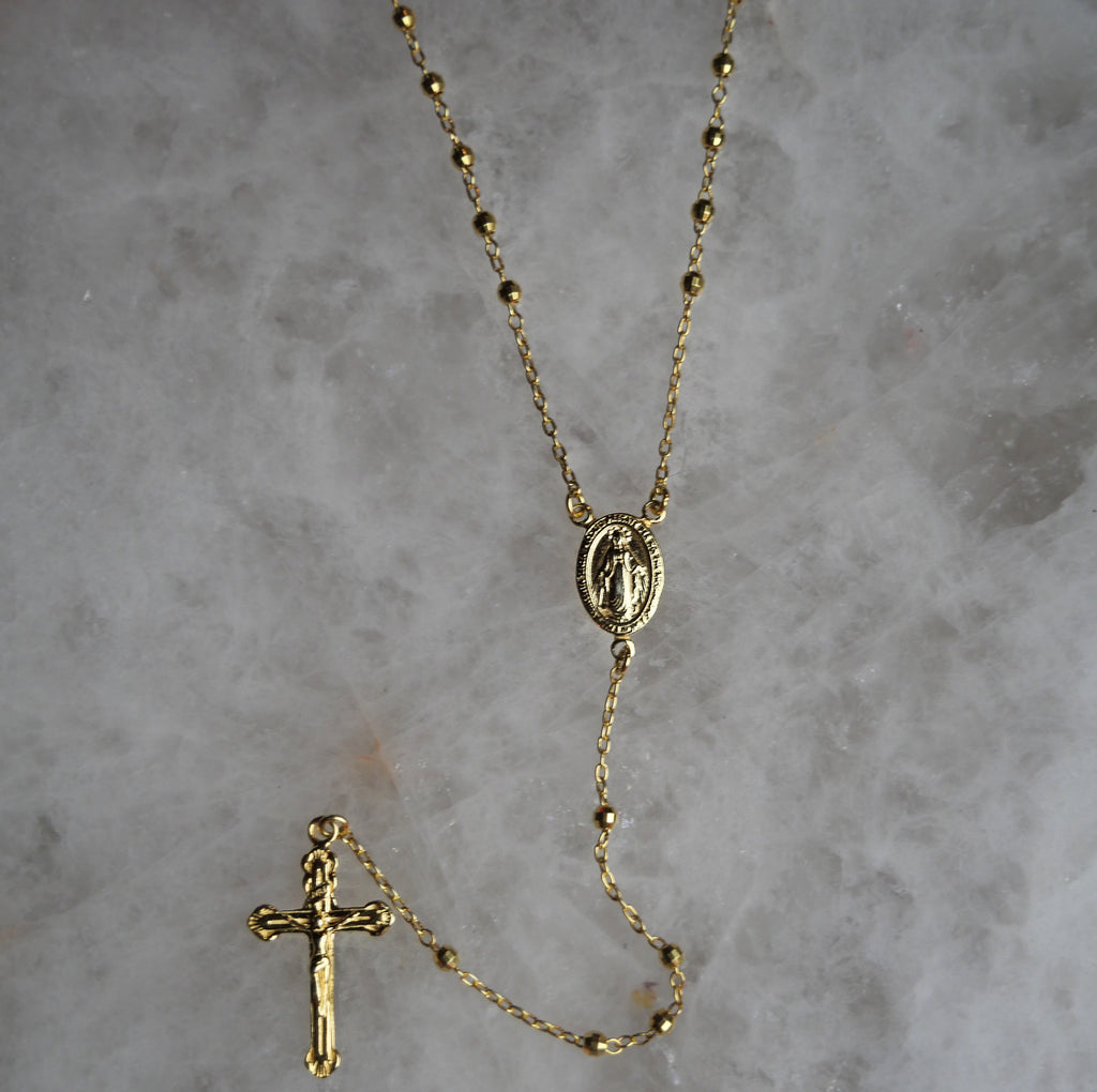 Classic Rosary by House of Fine Gold