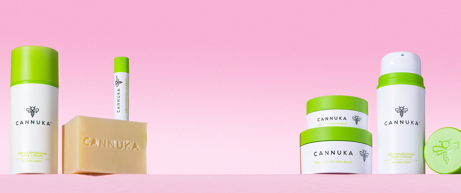 Cannuka CBD and Manuka Honey Skincare Product Lineup