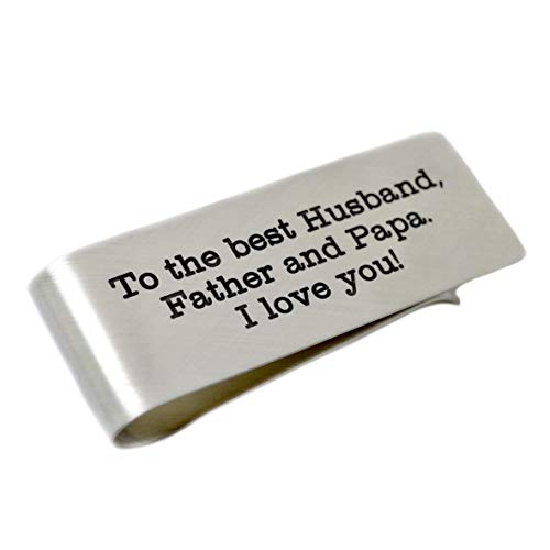 Father's Day Money Clip - Love It Personalized