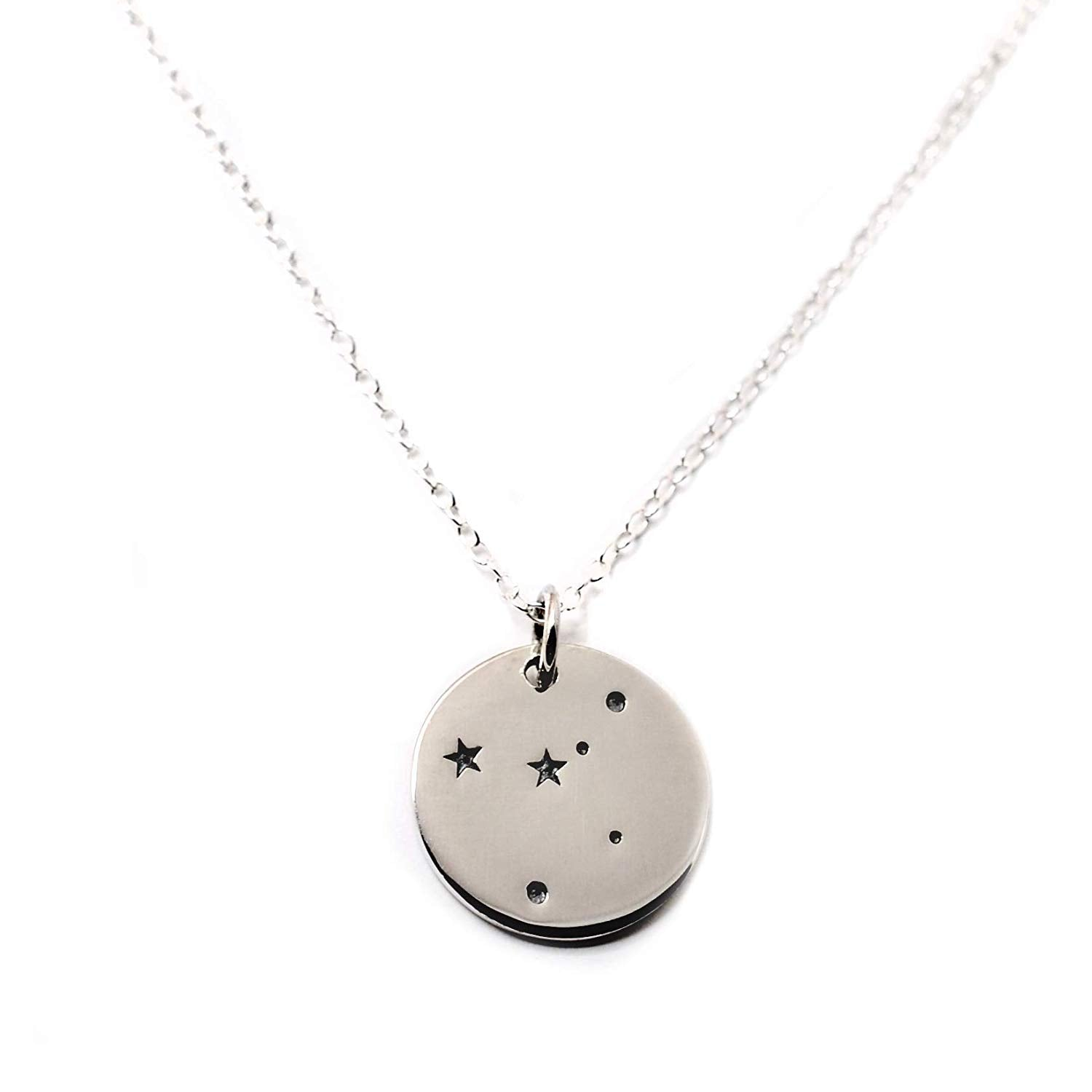 Cancer Zodiac Sign Sterling Silver Constellation Necklace - Love It Personalized