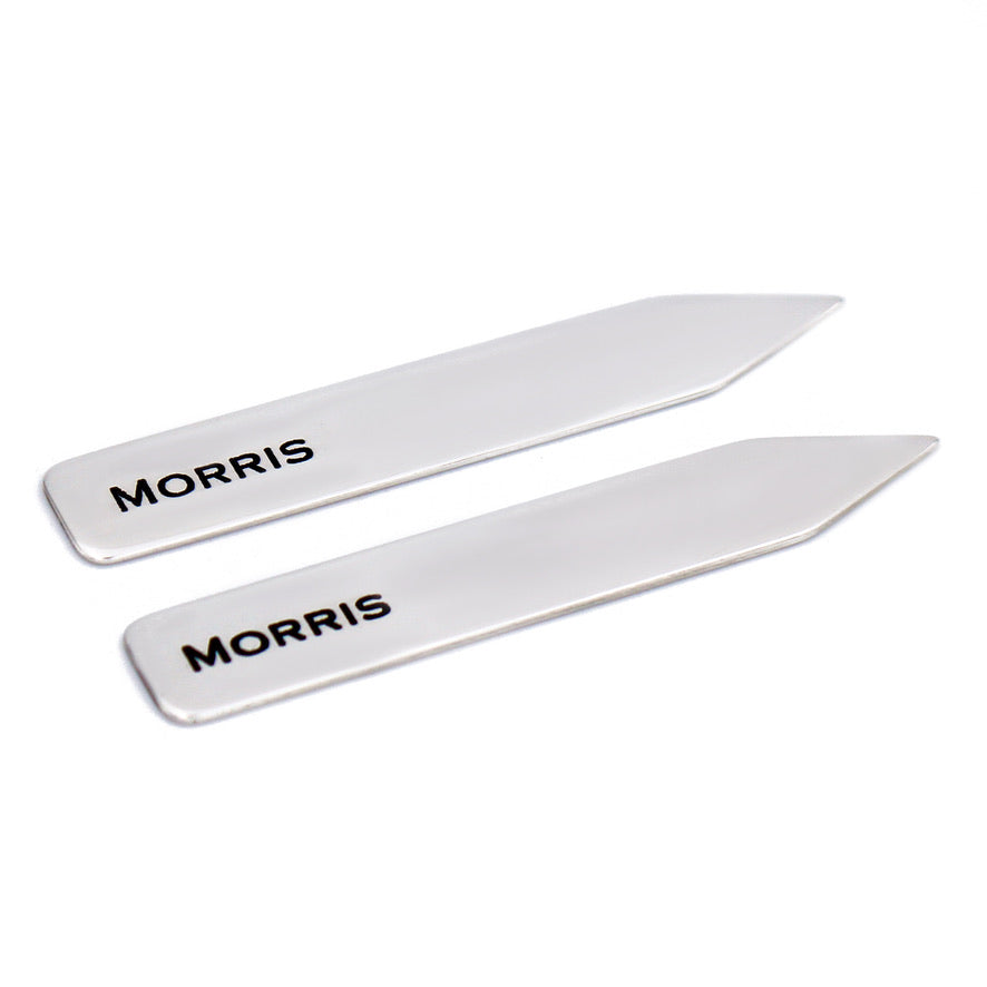 Custom Sterling Silver Collar Stays - Love It Personalized