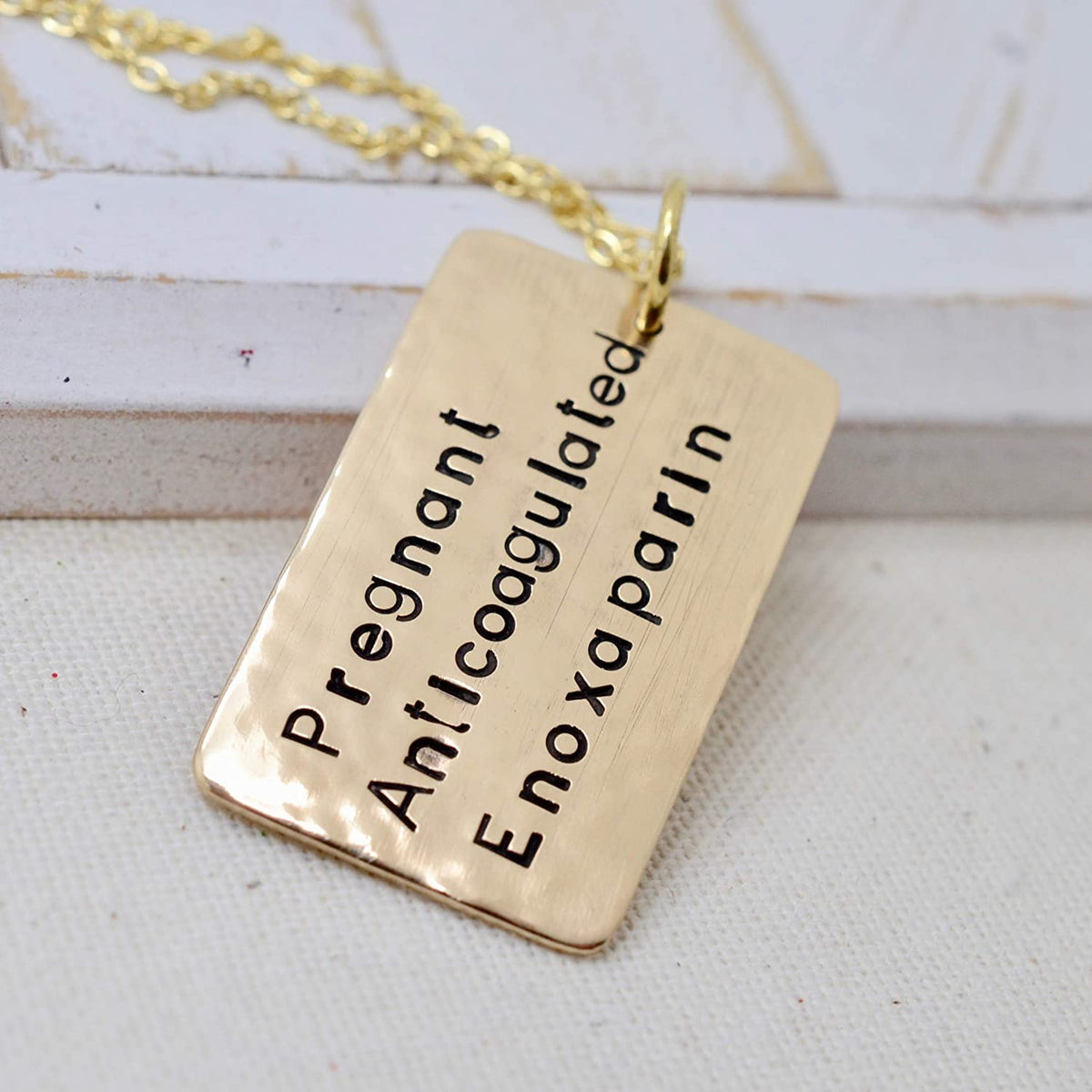 Medical Alert Necklace - Love It Personalized