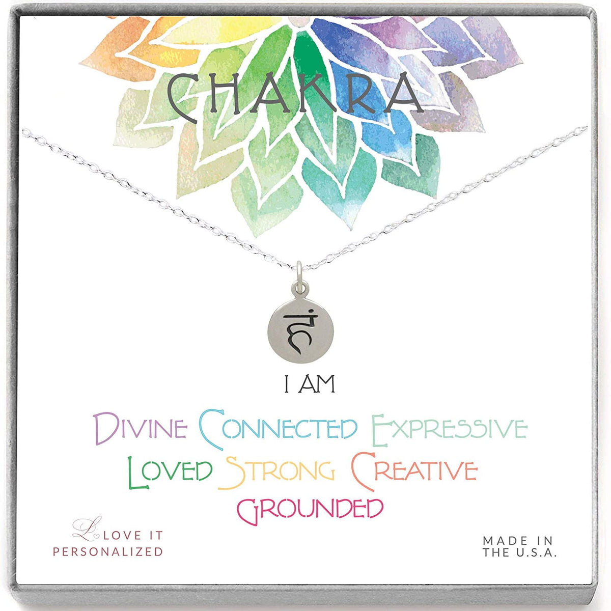 Throat Chakra Necklace - Love It Personalized