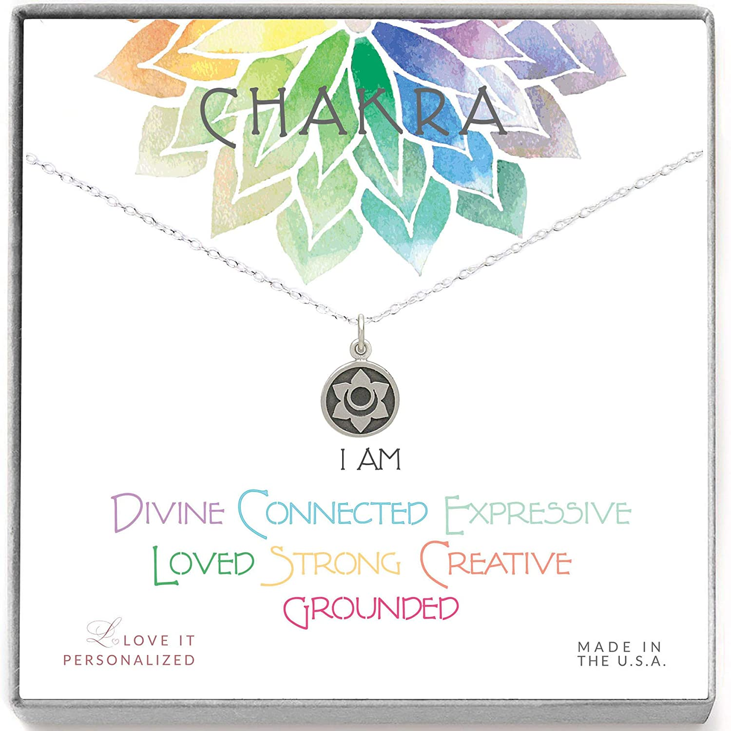 Sacral Chakra Necklace - Love It Personalized