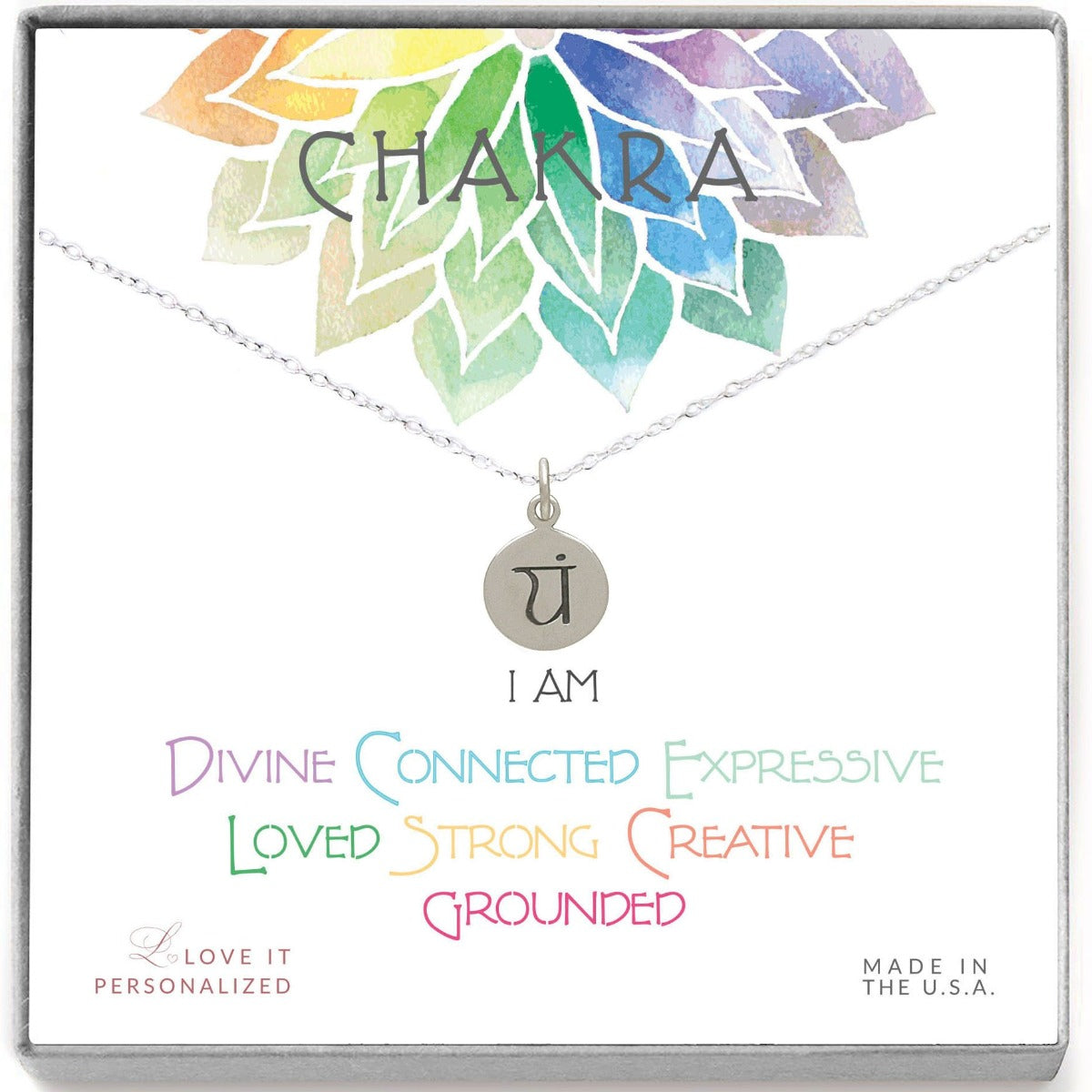 Heart Chakra Necklace - Love It Personalized