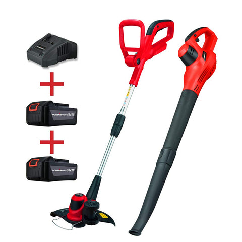 PS76115A 20V Lithium-Ion Blower and Trimmer Combo