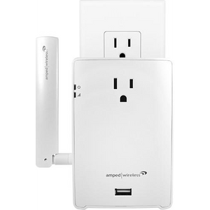 High Power AC1200 Wi-Fi Range Extender - White