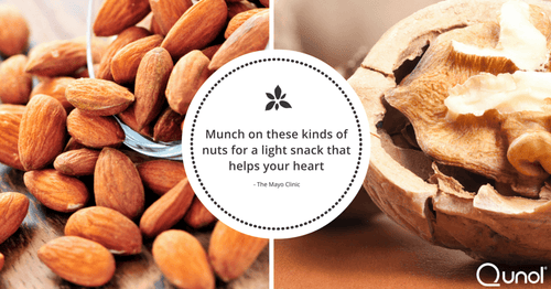 Munch on These Kinds of Nuts for a Light Snack That Helps Your Heart