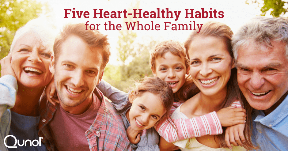 Five Heart-Healthy Habits for the Whole Family