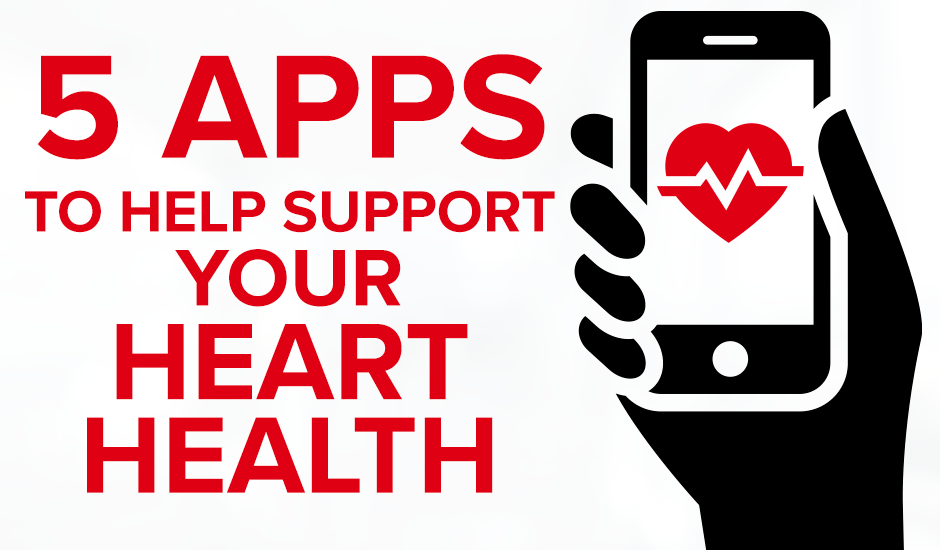 5 Apps to Help Support Your Heart Health