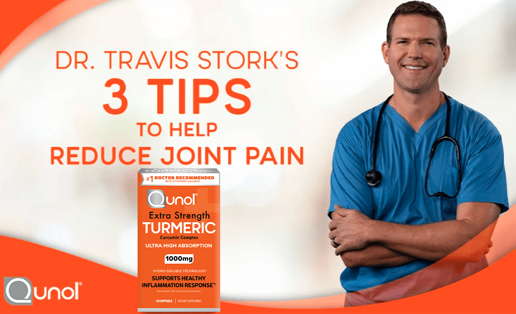 Dr. Travis Stork's 3 Tips to Help Reduce Joint Pain
