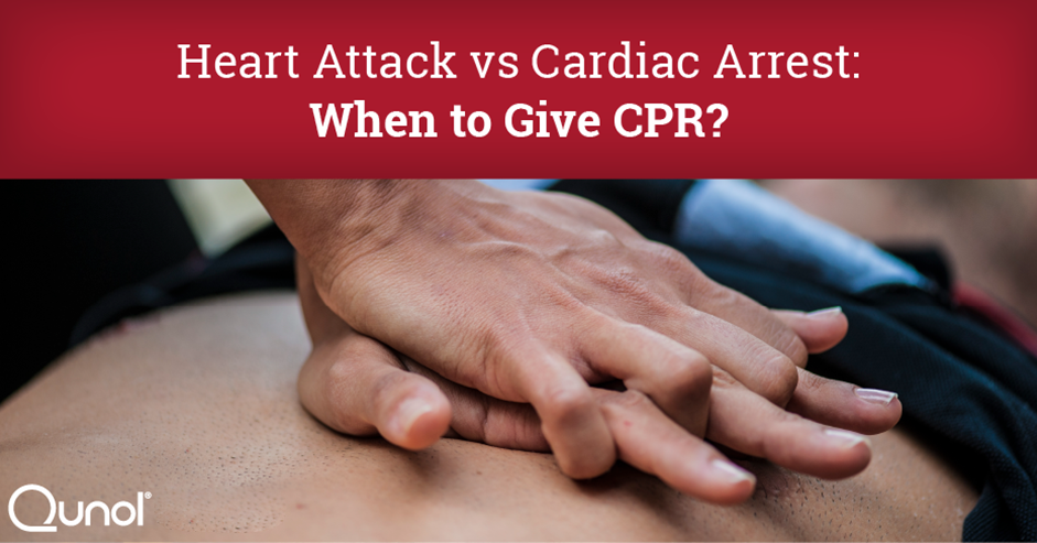 Heart Attack vs Cardiac Arrest: When to Give CPR?