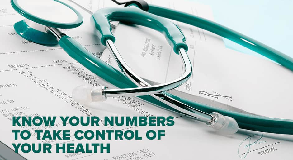 Know Your Numbers to Take Control of Your Health
