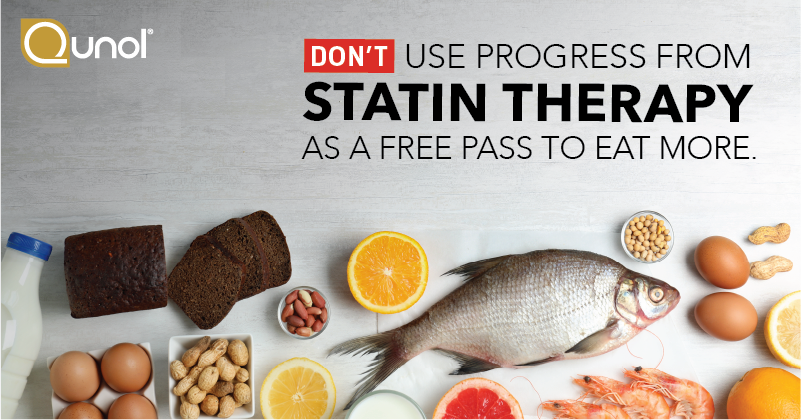 Don't Use Progress From Statin Therapy as a Free Pass to Eat More