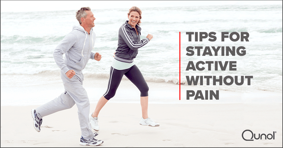 Tips For Staying Active Without Pain