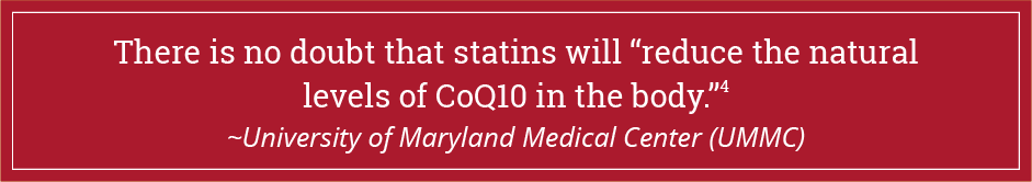 What makes your CoQ10 levels decline_