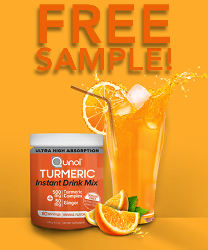 Free Sample of Turmeric Instant Drink Mix