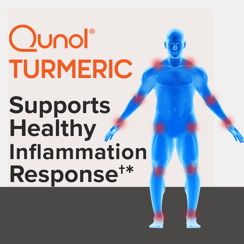 Qunol Turmeric supports healthy inflammation response.