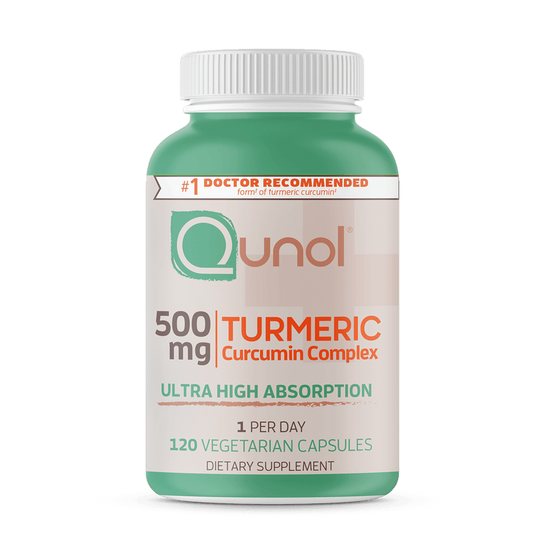 Qunol® Vegetarian Turmeric Curcumin Complex, Ultra High Absorption, 500 mg