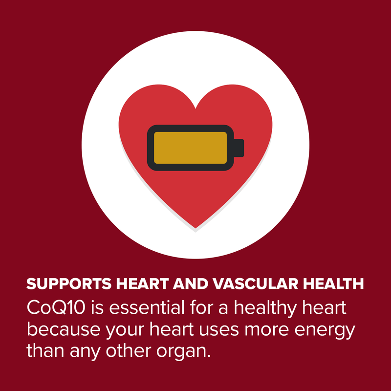 Supports Heart and Vascular Health