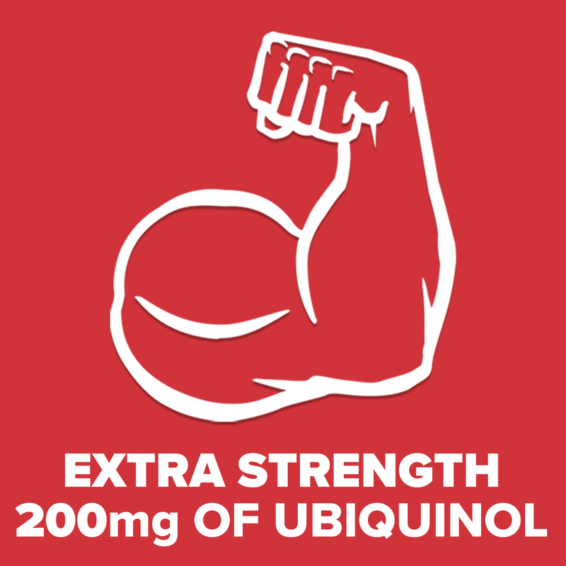 Qunol® Ubiquinol Extra Strength, 200 mg, 60 Count