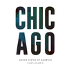 Chicago Typography T-Shirt - Men's