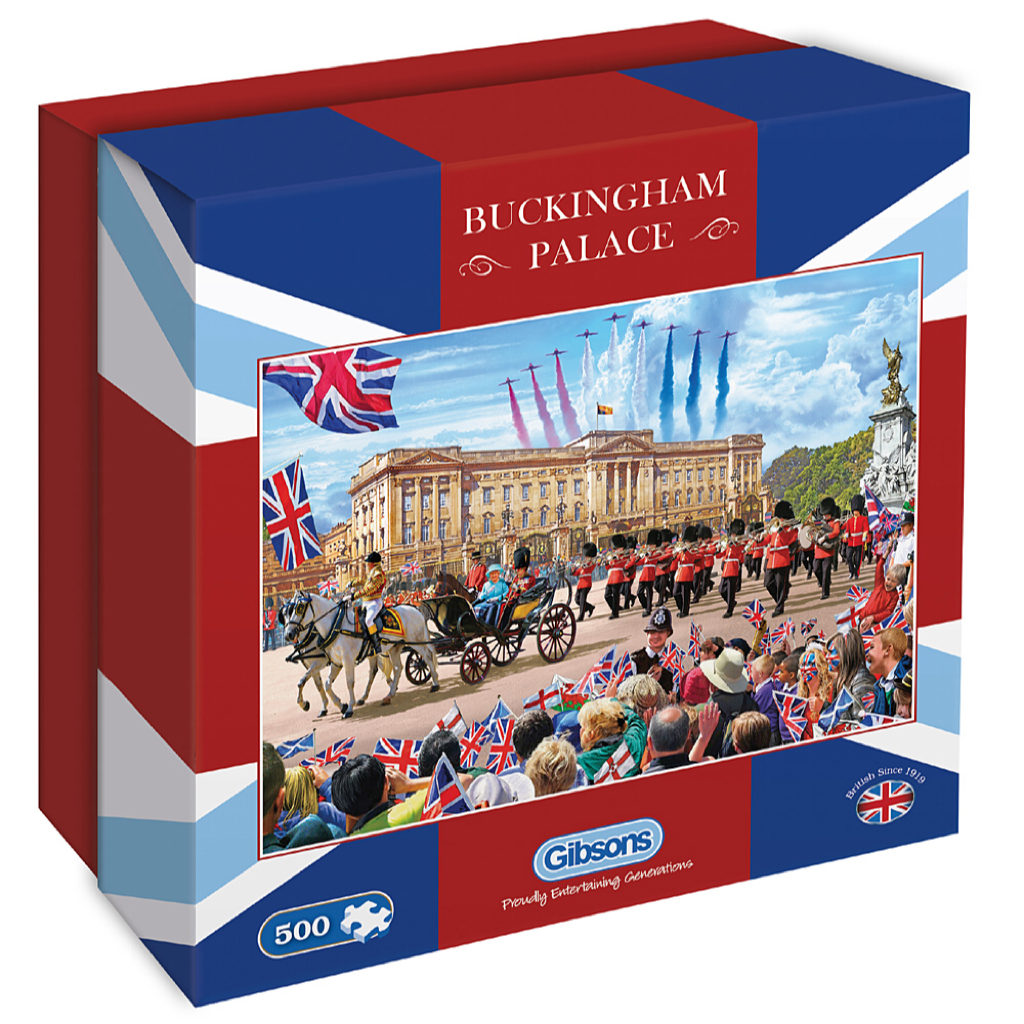 Buckingham Palace Jigsaw Puzzle