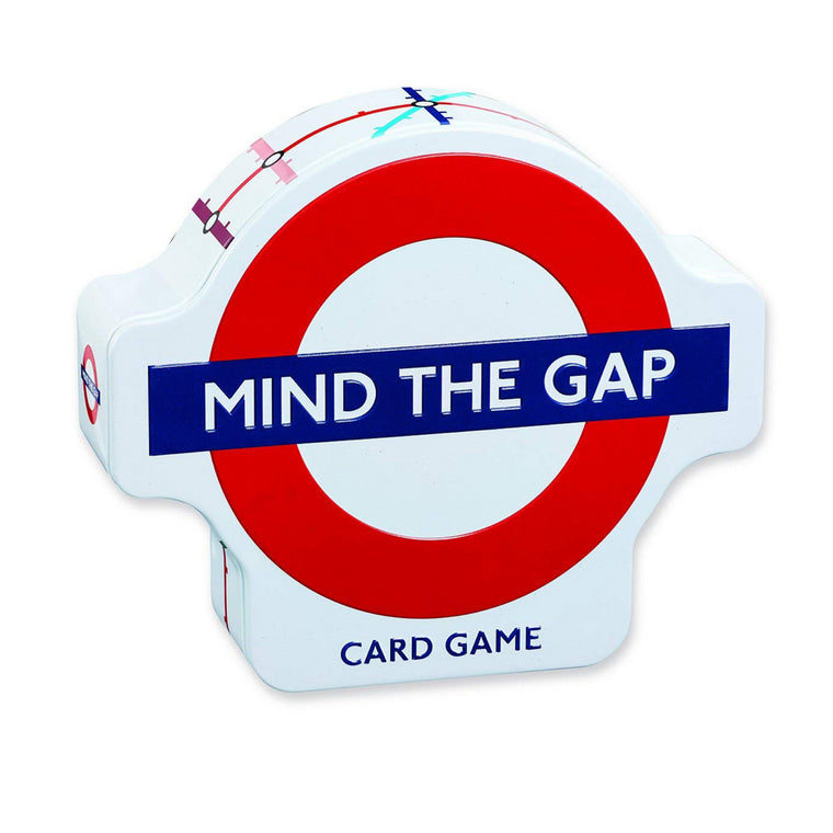 "Mind the Gap Card Game - based on London's Famous ""Underground"" Transit System, for ages 6+"