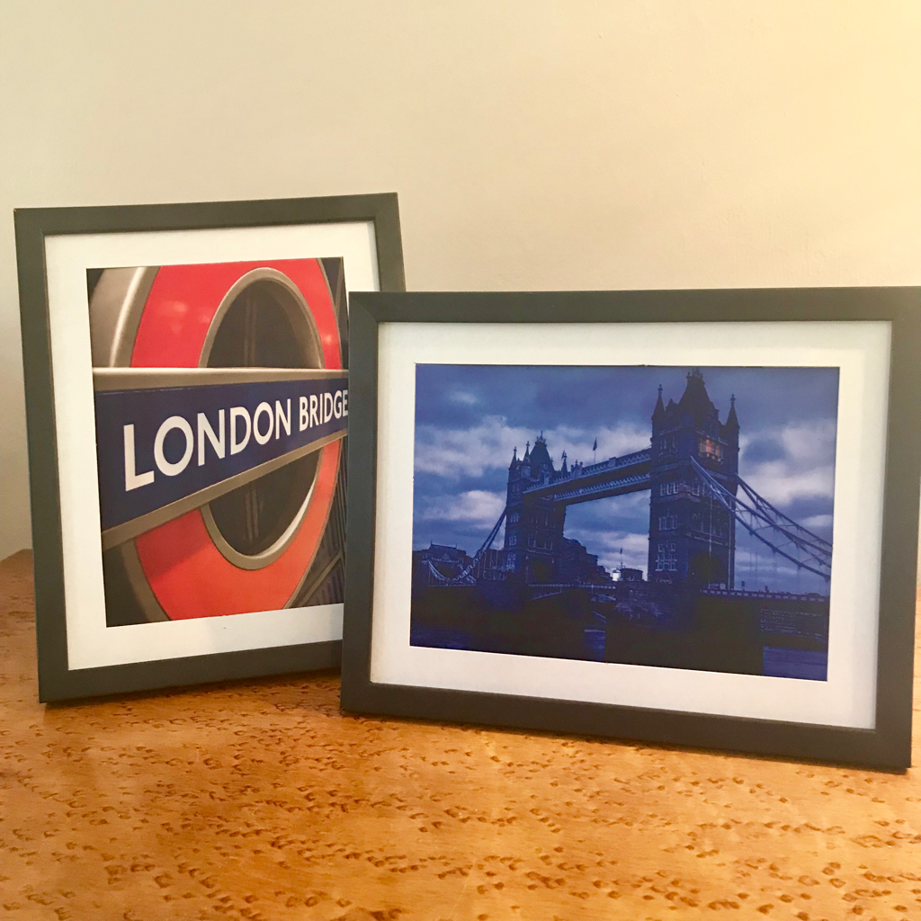 "London Scenes - 12 5"" X 7"" prints ready for framing"