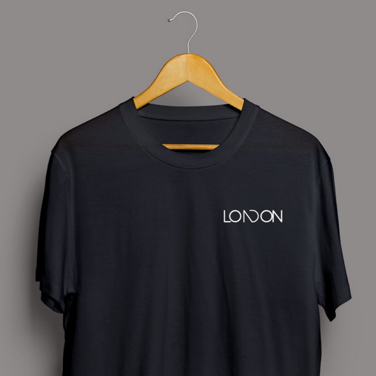 Classic Black London T-Shirt