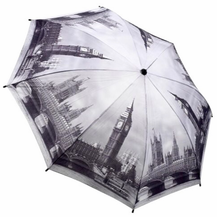 """London in Black & White"" Umbrella"