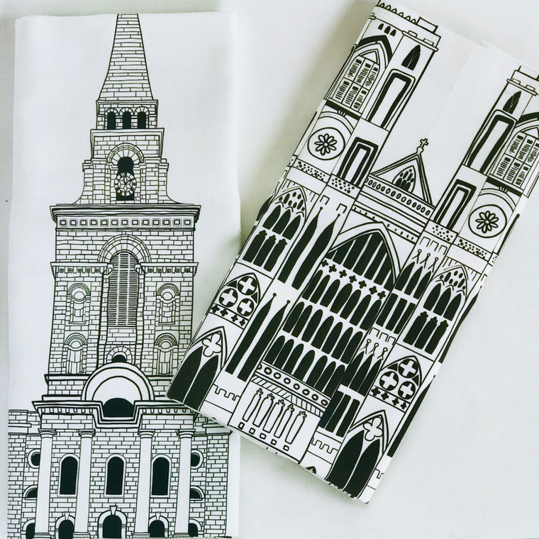 London Tea Towels - Set of 2