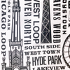 Chicago Tea Towels - Set of 2
