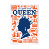 """It's Good to Be Queen"" Tea Towels -Set of 2"