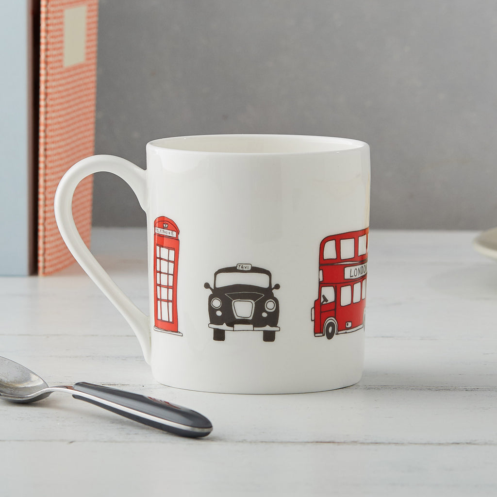 London Icon Mugs, Set of 2