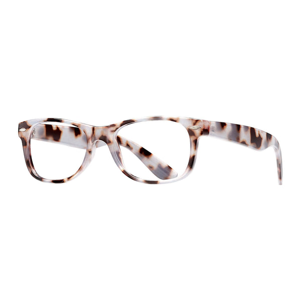 Blue Planet Eco-Eyewear - Classic - Ivory Tortoise / Blue Light Filtering Lens