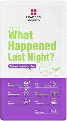 Leaders Cosmetics USA - Daily Wonders What Happened Last Night Mask