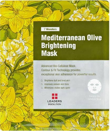 Leaders Cosmetics USA - 7 Wonders Mediterranean Olive Brightening Mask