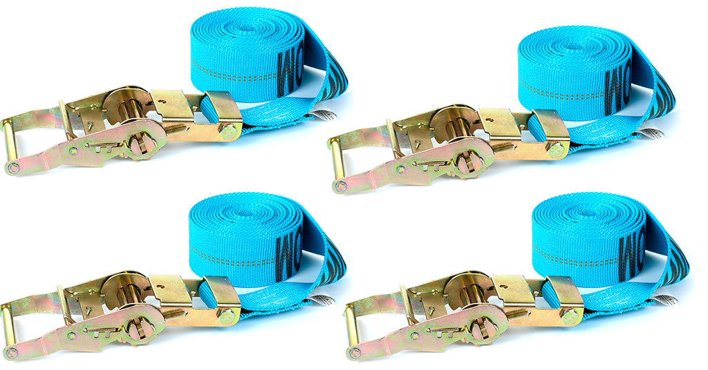 TANK STRAP: 4pk (Special Edition Blue) 2 Bike Set