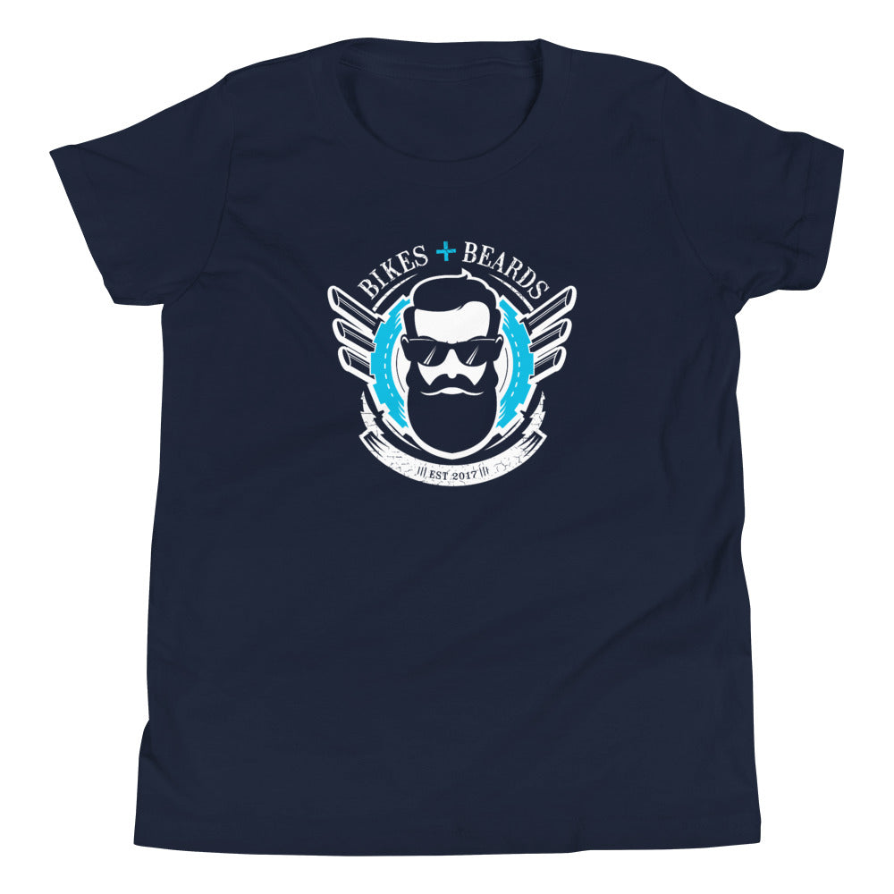 Kids Bikes and Beards t-shirt