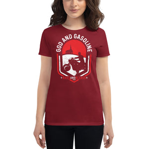 Women's God and Gasoline t-shirt
