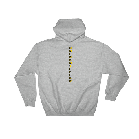 New Vision Unidentified Hoodie Back