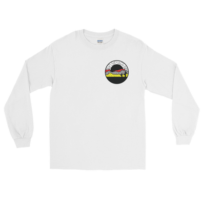 Wit Rukus Cactus Sunset - White Long Sleeve