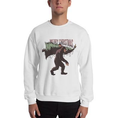 Bigfoot Christmas - Men's Ugly Christmas Sweater