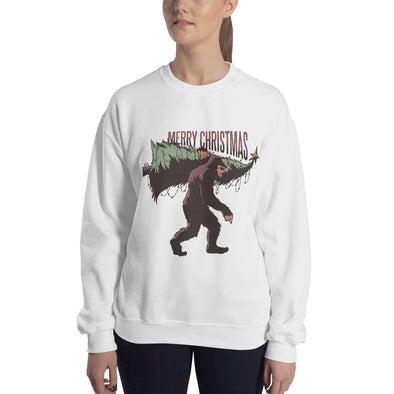 Bigfoot Christmas - Women's Ugly Christmas Sweater