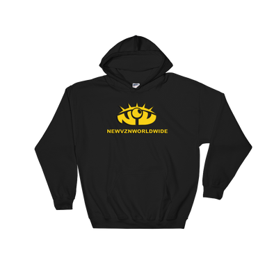 New Vision Unidentified Hoodie - Black