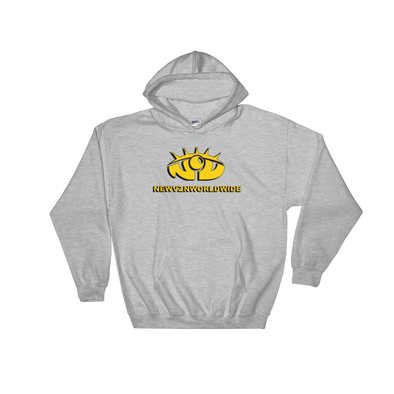 New Vision Unidentified Hoodie - Grey