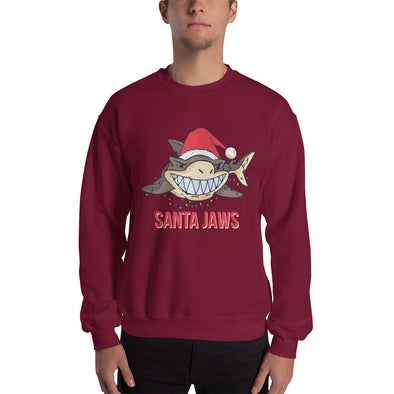 Santajaws - Men's Ugly Christmas Sweater