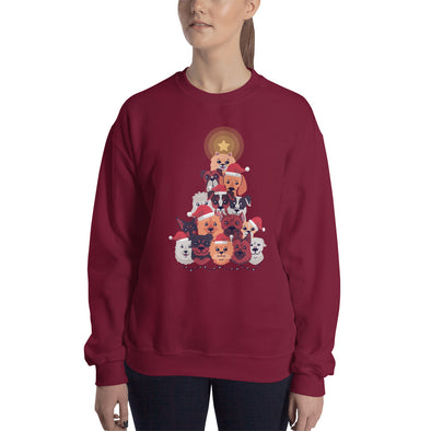 Dogsmas - Women's Ugly Christmas Sweater